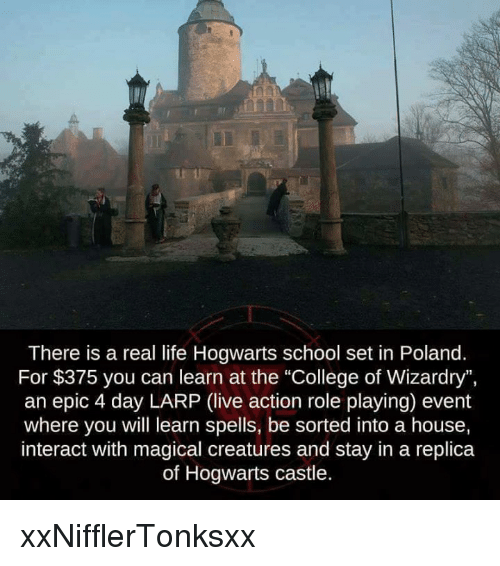 College Memeagic There Is A Real Life Hogwarts School Set In