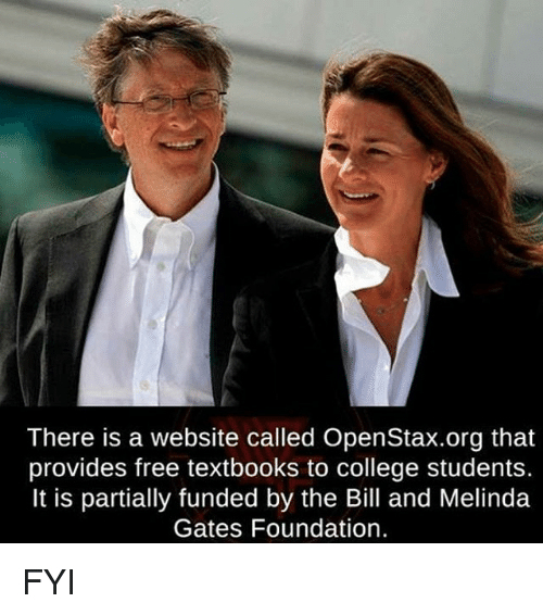 There Is a Website Called OpenStaxorg That Provides Free Textbooks to College Students It Is