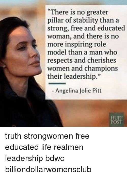 angelina jolie role model