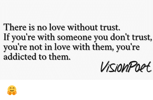 Be with trust don you t should you someone I don't