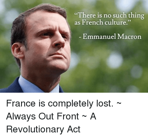 There Is No Such Thing As French Culture