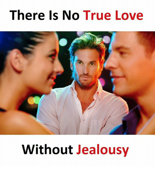 Love, True, and Jealousy: There is No  True Love  Without Jealousy