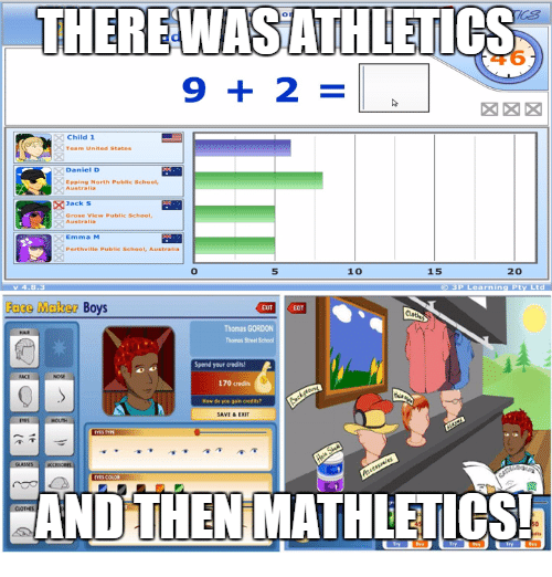Memes And Maker THERE WASATHLETIC 9 2 10 20 15 Face
