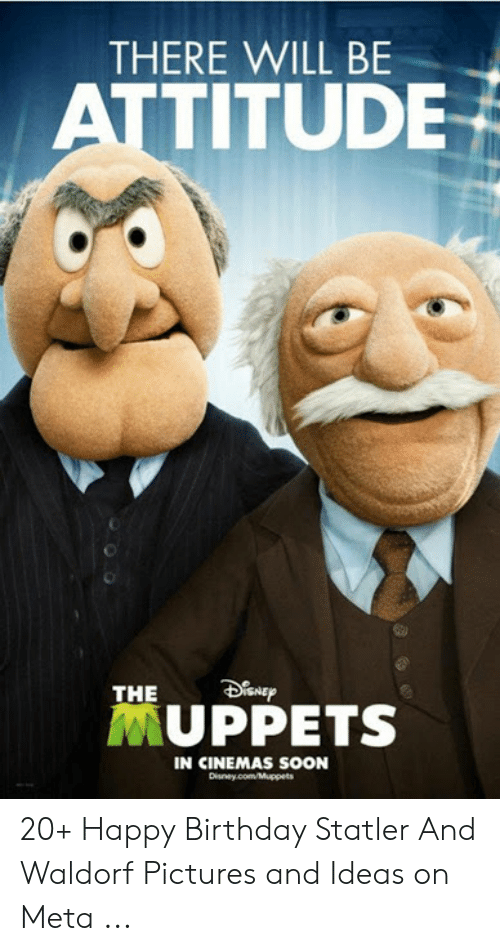 There Will Be Attitude The Muppets In Cinemas Soon