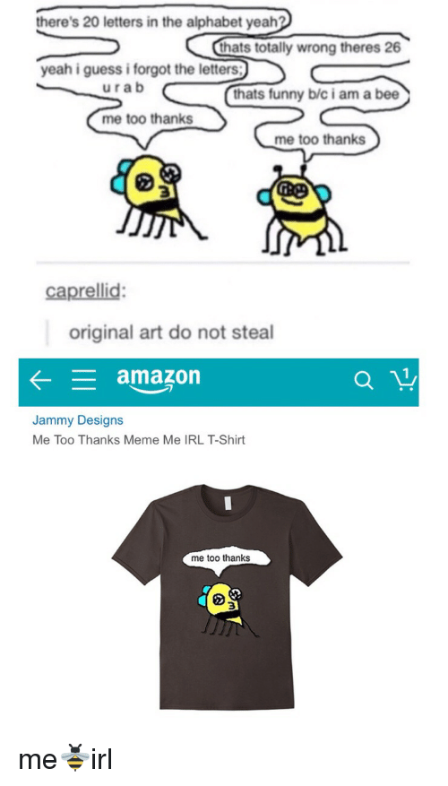 amazon alphabet and irl theres 20 letters in the alphabet yeah thats totally