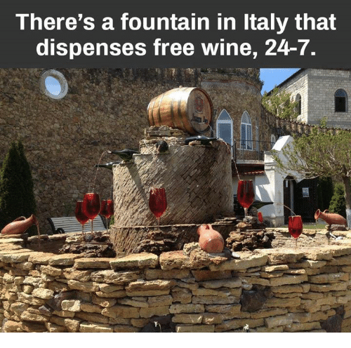 There's a Fountain in Italy That Dispenses Free Wine 24-7 ... | 500 x 496 png 167kB