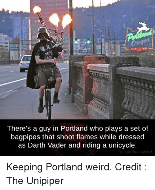 Keep Portland Weird Darth Vader 10
