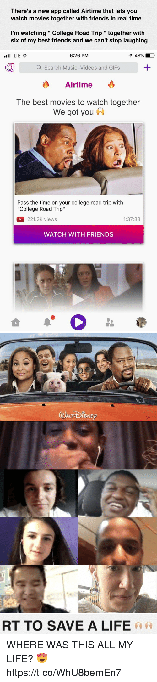 app that you can watch movies with friends