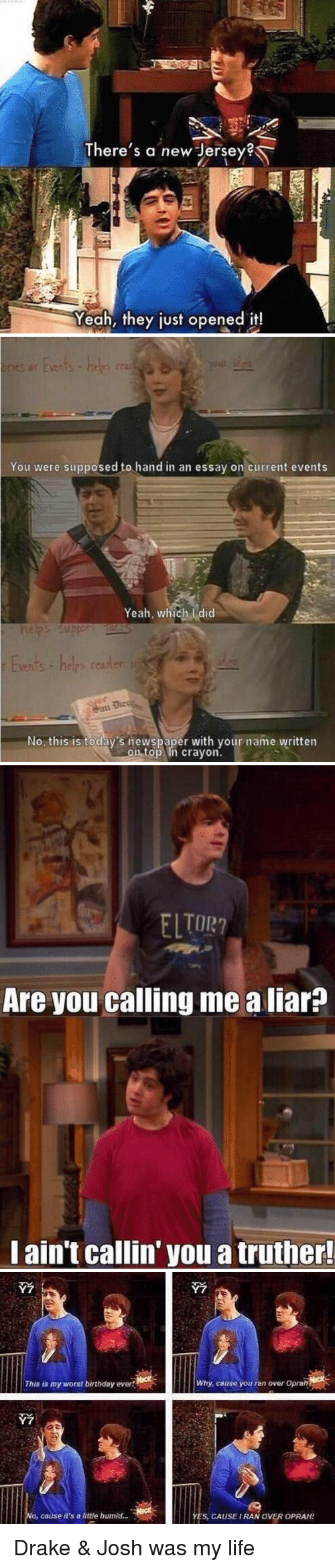 funny essay memes of on write drake josh memes and new jersey there s a new jersey yeah