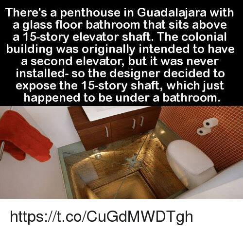Memes Never And Theres A Penthouse In Guadalajara With Glass Floor