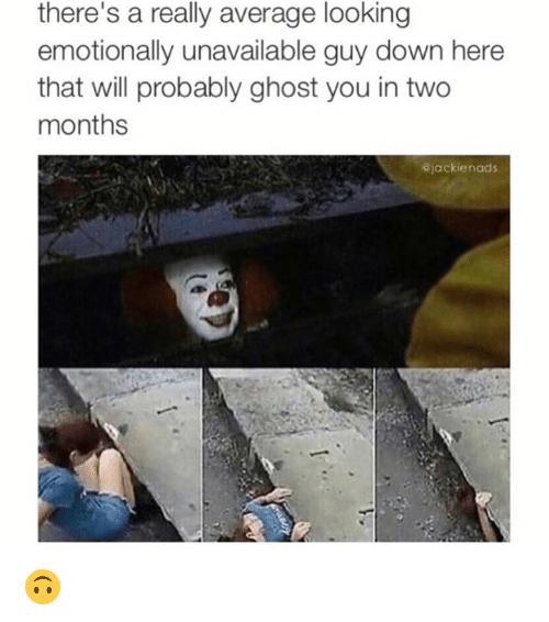 Emotionally unavailable guy