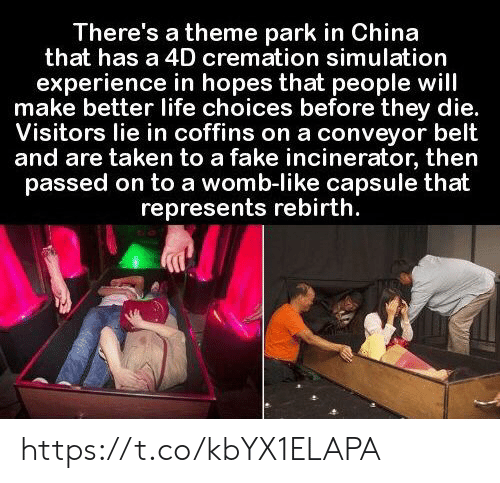 There's a Theme Park in China That Has a 4D Cremation