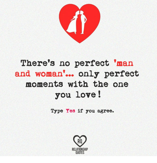 No Perfect Way To Love