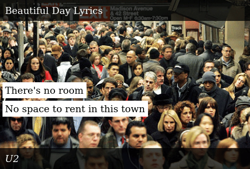 There's No Room No Space to Rent in This Town | Donald Trump Meme on