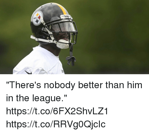 "Memes, The League, and 🤖: ""There's nobody better than him in the league."" https://t.co/6FX2ShvLZ1 https://t.co/RRVg0QjcIc"