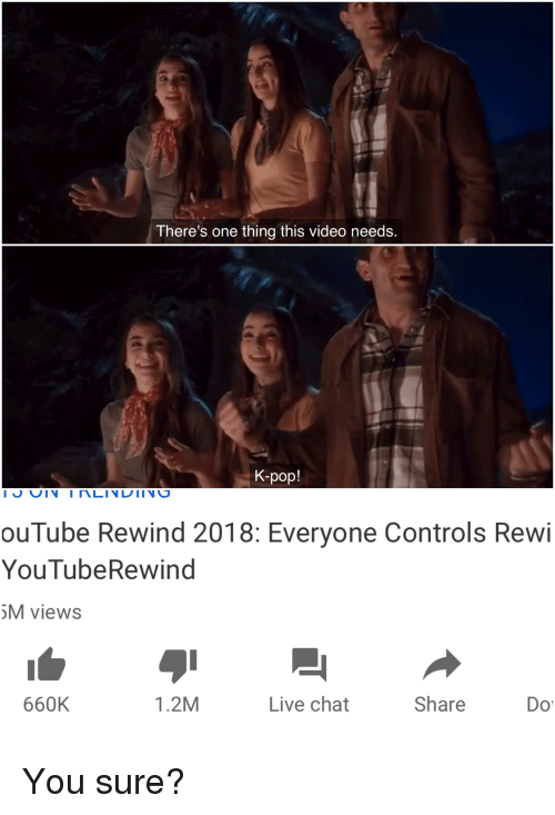 There's One Thing This Video Needs K-Pop! ouTube Rewind 2018
