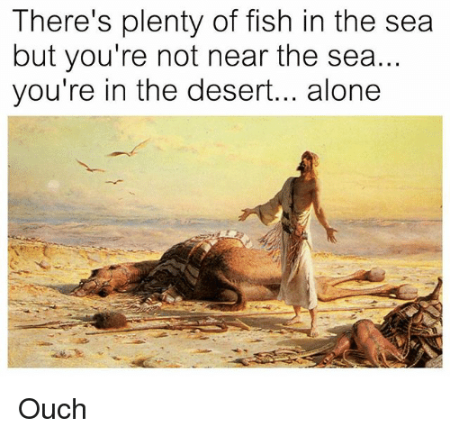 There Is Plenty Of Fish In The Sea