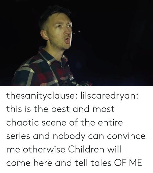 Children, Target, and Tumblr: thesanityclause: lilscaredryan: this is the best and most chaotic scene of the entire series and nobody can convince me otherwise Children will come here and tell tales OF ME