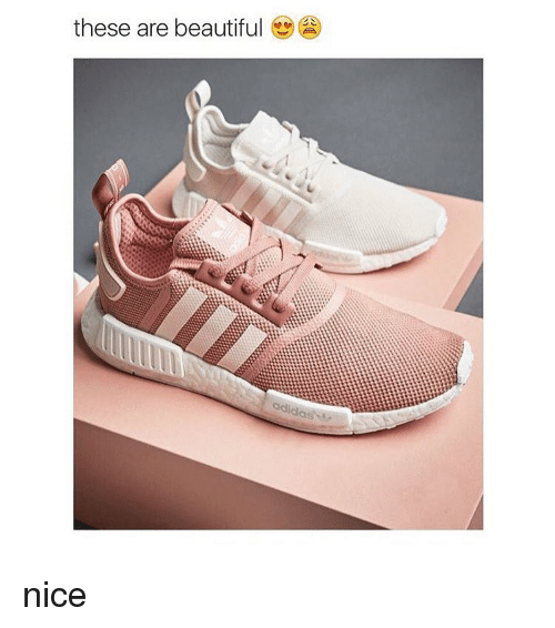 Adidas, Beautiful, and Girl Memes: these are beautiful adidas nice