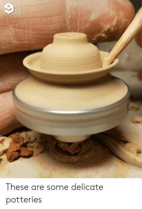Dank, 🤖, and Delicate: These are some delicate potteries
