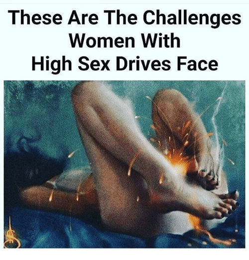 Women with high sex drives