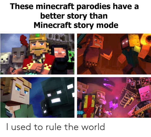 These Minecraft Parodies Have A Better Story Than Minecraft Story