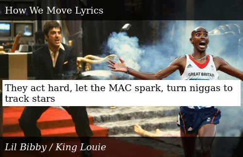 They Act Hard Let the MAC Spark Turn Niggas to Track Stars