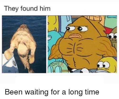 SpongeBob, Time, and Waiting...: They found him