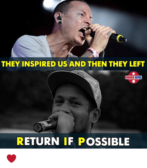 Meme, Nepali, and They: THEY INSPIRED US AND THEN THEY LEFT  meme NEPAD  RETURN IF POSSIBLE ❤️