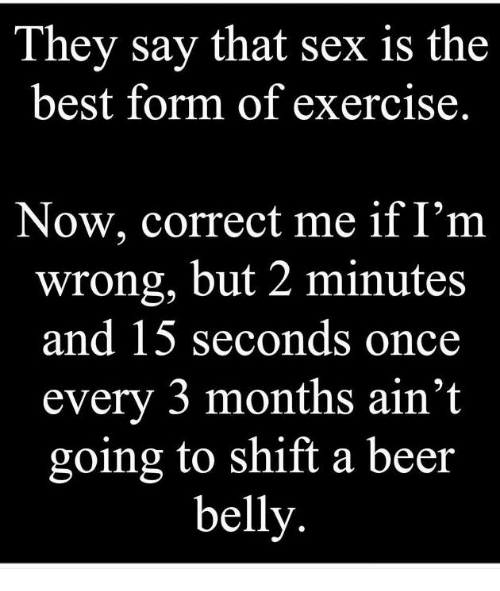 is sex a good form of exercise