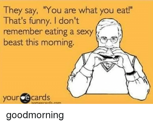 Sexy funny good morning