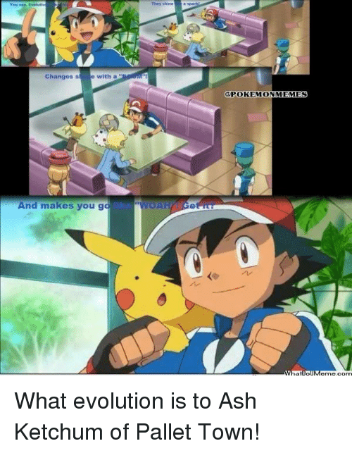 Ash Meme And Memes They Shine Changes S With A And Makes You