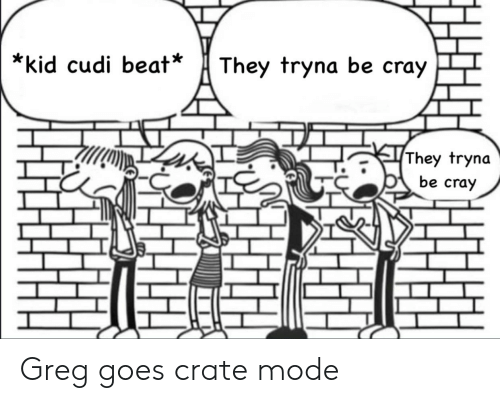 They Tryna Be Cray Kid Cudi Beat They Tryna Be Cray Greg Goes