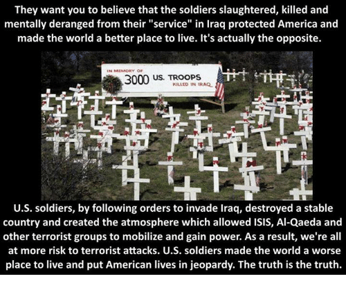 They Want You to Believe That the Soldiers Slaughtered