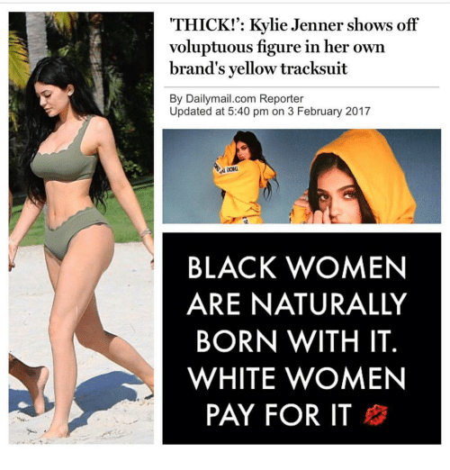 thick kylie jenner shows off voluptuous figure in her own 13585724 thick! kylie jenner shows off voluptuous figure in her own brand's,Thick Women Memes