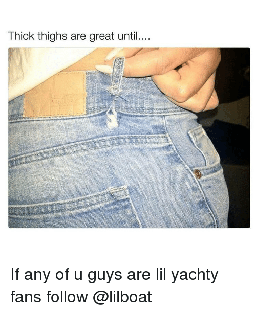 Why do guys like thick thighs