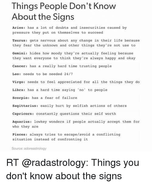 What signs do aries not get along with