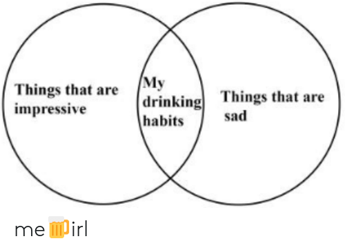 Sad, Impressive, and  Things: Things that are My  impressive  drinkingThings that are  habits  sad me🍺irl