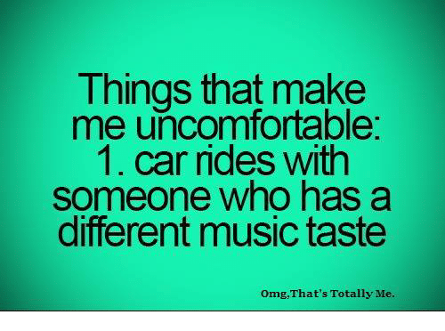 dating someone with different music taste meme