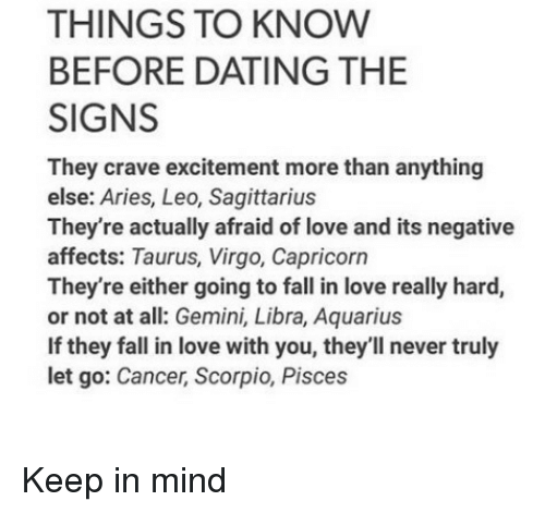 Things to know about dating a capricorn