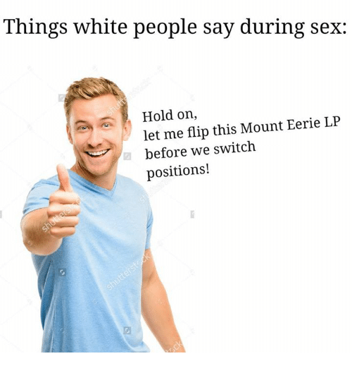 things people say during sex