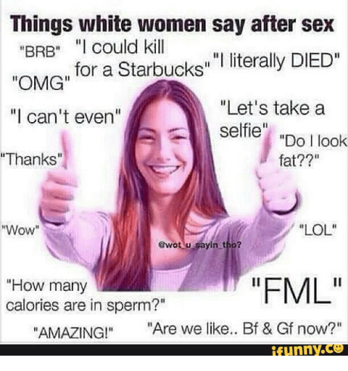 funny say things after sex