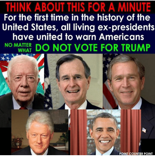 Not Voting For Trump