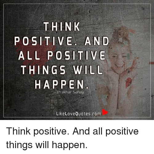 positive things about love