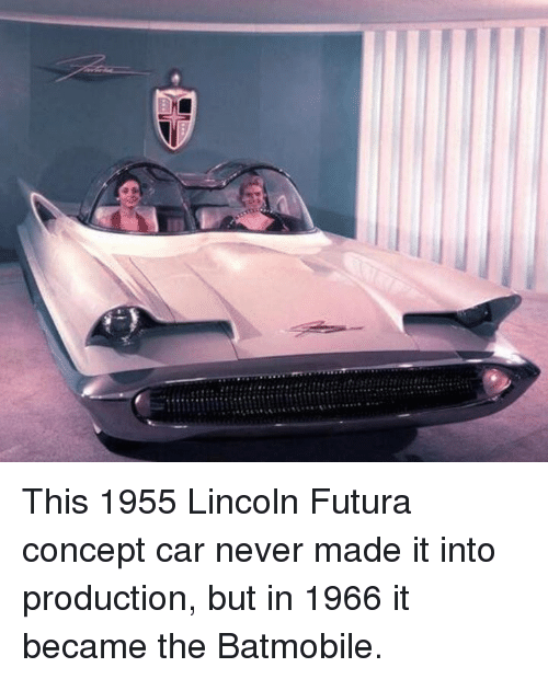 This 1955 Lincoln Futura Concept Car Never Made It Into Production