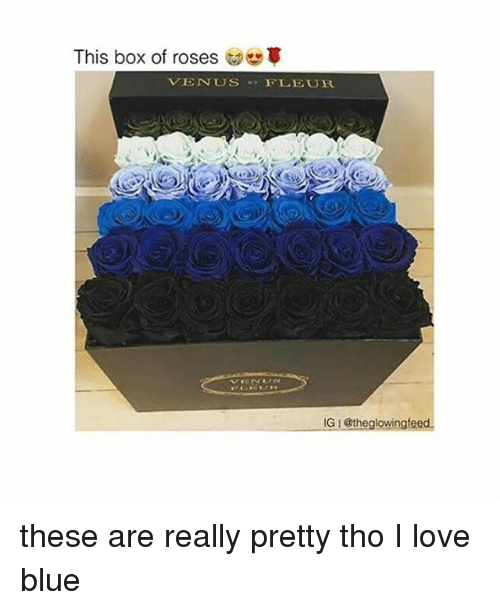 This Box Of Roses Tvenus Fleur Igi The Glowingfeed These Are Really