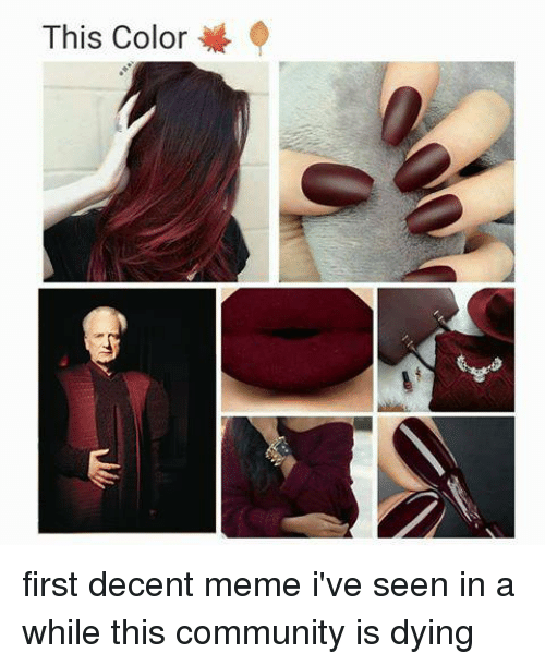 this color first decent meme ive seen in a while 3706959 this color first decent meme i've seen in a while this community is