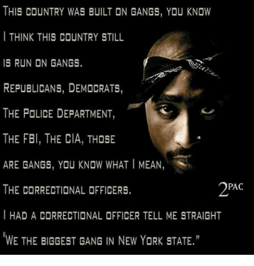 this country was built on gangs you know i think 21396151 ✅ 25 best memes about correctional officer correctional,Correctional Officer Memes