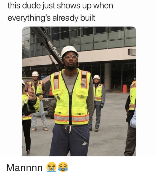 Dude, Nba, and This: this dude just shows up when  everything's already built Mannnn 😭😂