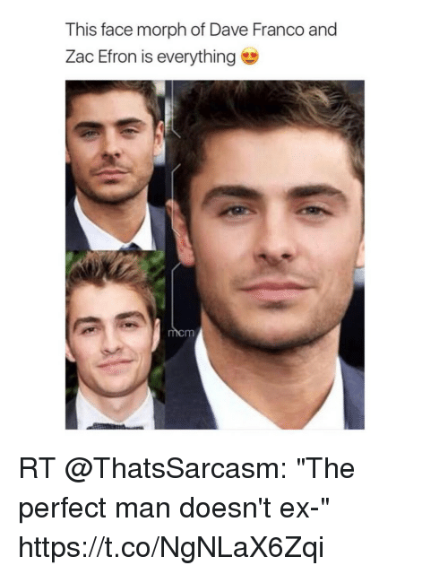 This Face Morph of Dave Franco and Zac Efron Is Everything RT the